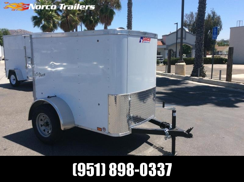 2021 Pace American Outback 4' x 6' Enclosed Cargo Trailer