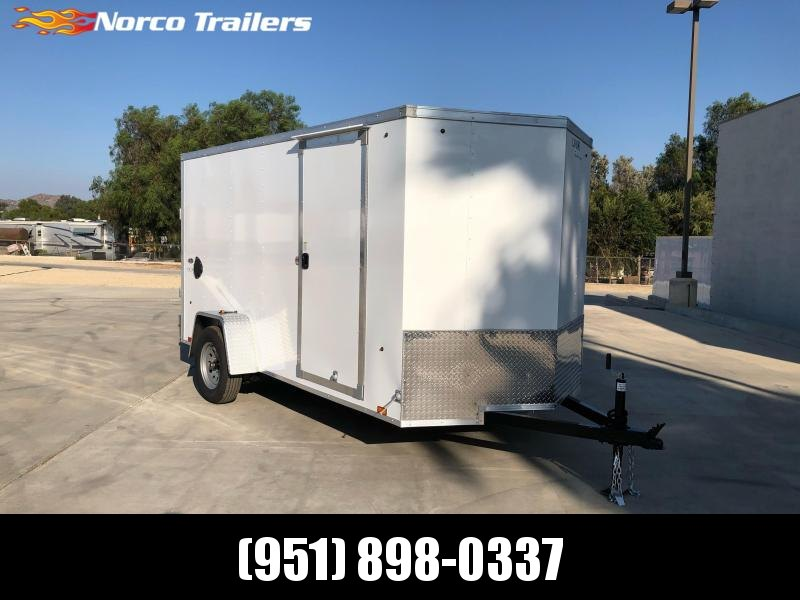 2021 Look Trailers ST DLX 6' x 12' Enclosed Cargo Trailer