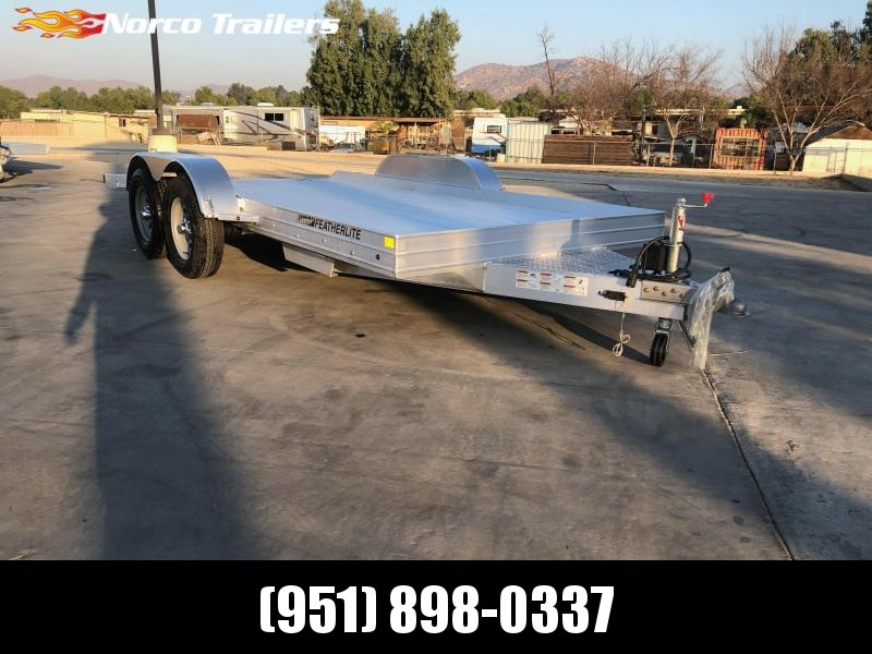 2021 Featherlite 3110 8.5' x 14' 7K Flatbed Car Trailer