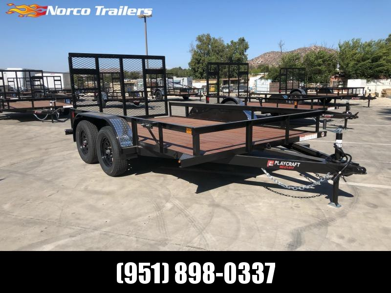 "2021 Sun Country 82"" x 12' Tandem Utility Trailer"