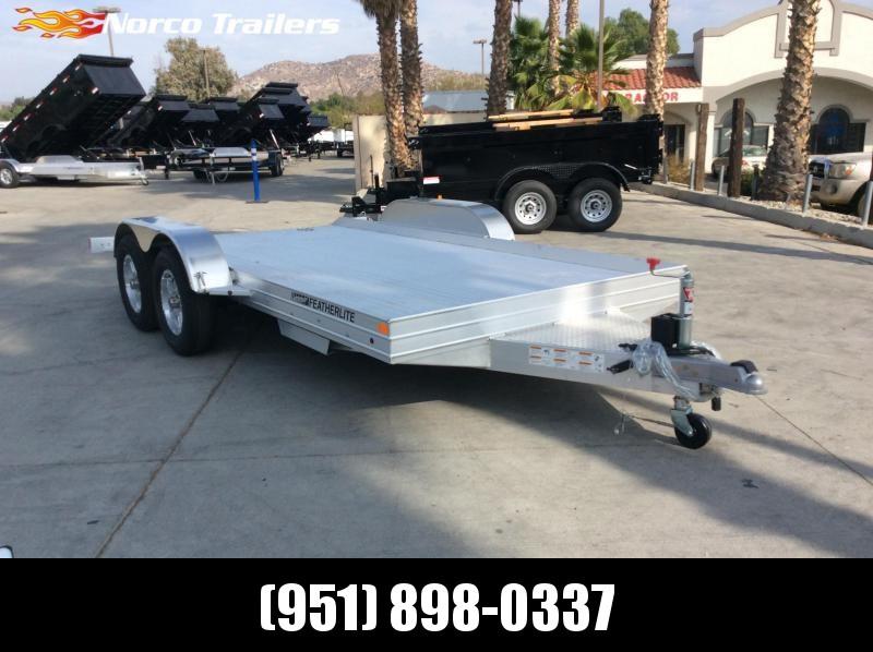 2022 Featherlite 3110 8.5' x 14' 7K Flatbed Car Trailer