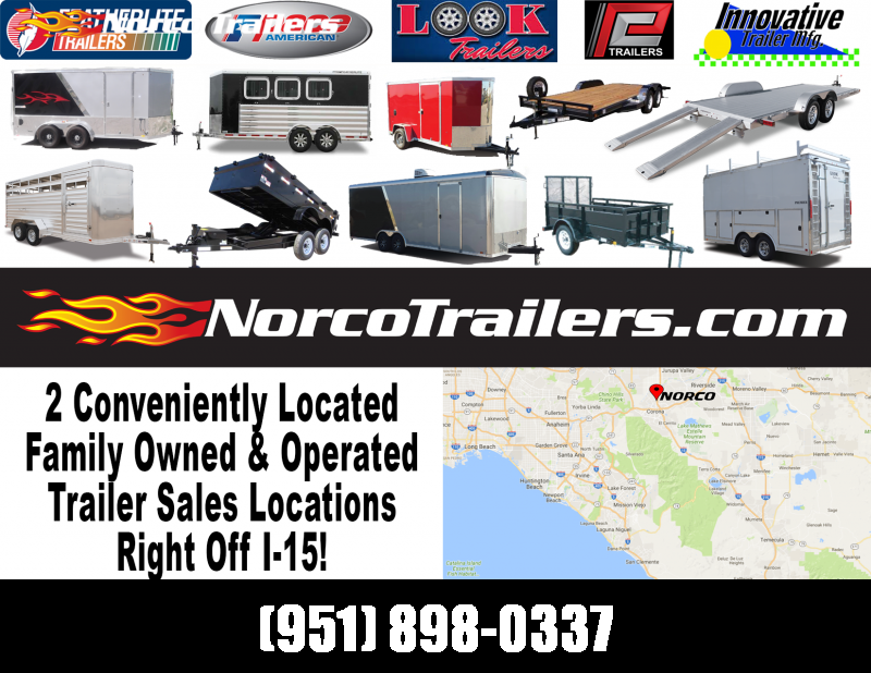 2021 Look Trailers EQX 7x16 Enclosed Cargo Trailer