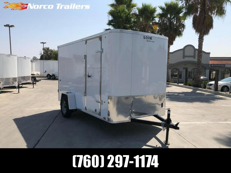 2021 Look Trailers STLC 6' x 12'  Cargo / Enclosed Trailer