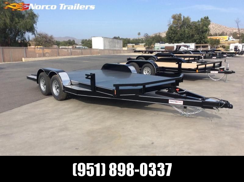 "2021 Innovative Trailer Mfg. 83"" x 16' 7k Steel Deck Flatbed Trailer"