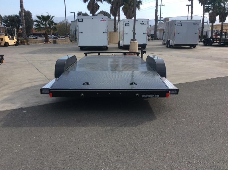 "2021 Innovative Trailer Mfg. 83"" x 16' 7k Steel Deck Flatbed Trailer"