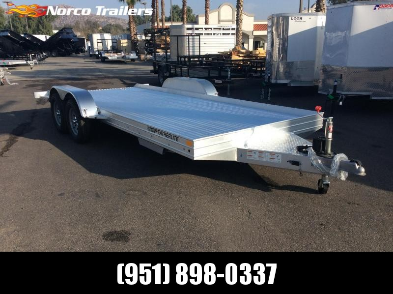 2019 Featherlite 3110 8.5' x 17.5' Flatbed Trailer