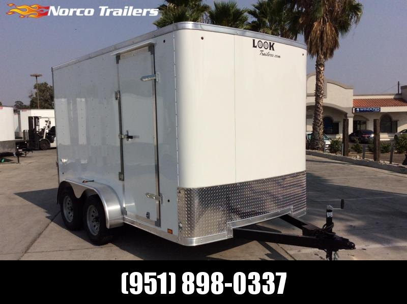 2021 Look Trailers ST 7 x 12 Tandem Axle Enclosed Cargo Trailer