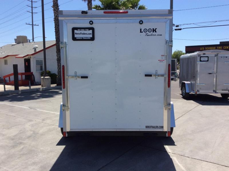 2021 Look Trailers Element 6' x 10' Single Axle Enclosed Cargo Trailer