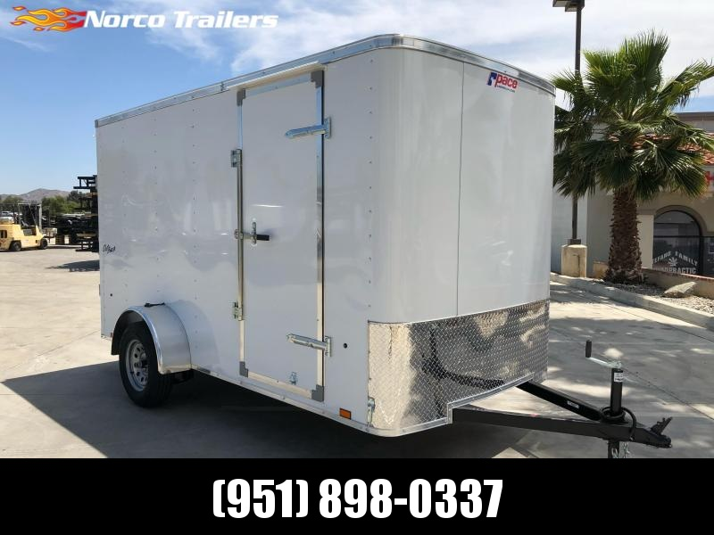 2022 Pace American OB 6' x 12' Enclosed Cargo Trailer