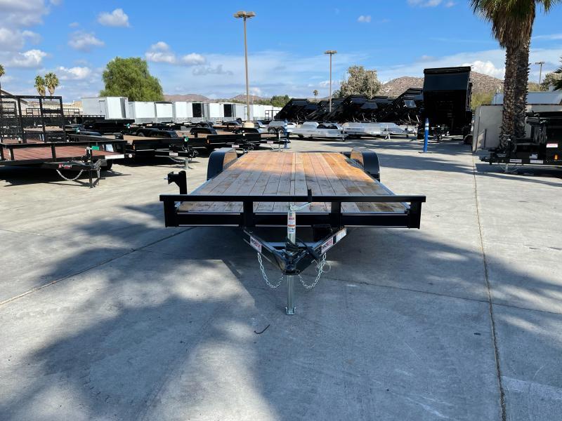 "2022 Innovative Trailer Mfg. 83"" x 20' Economy Wood Car Hauler Flatbed Trailer"