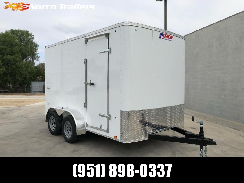 2021 Pace American Outback 7' x 12' Enclosed Cargo Trailer