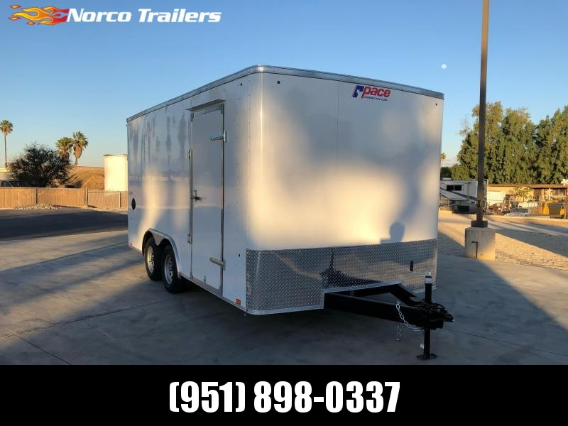 2021 Pace American Outback 8.5' x 16' 7K Car Trailer