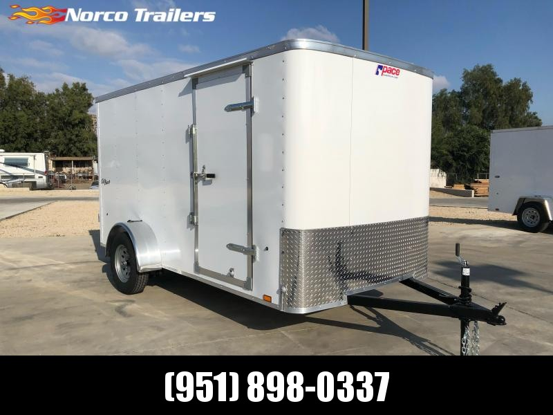 2022 Pace American Outback 6' x 12' Single Axle Enclosed Cargo Trailer
