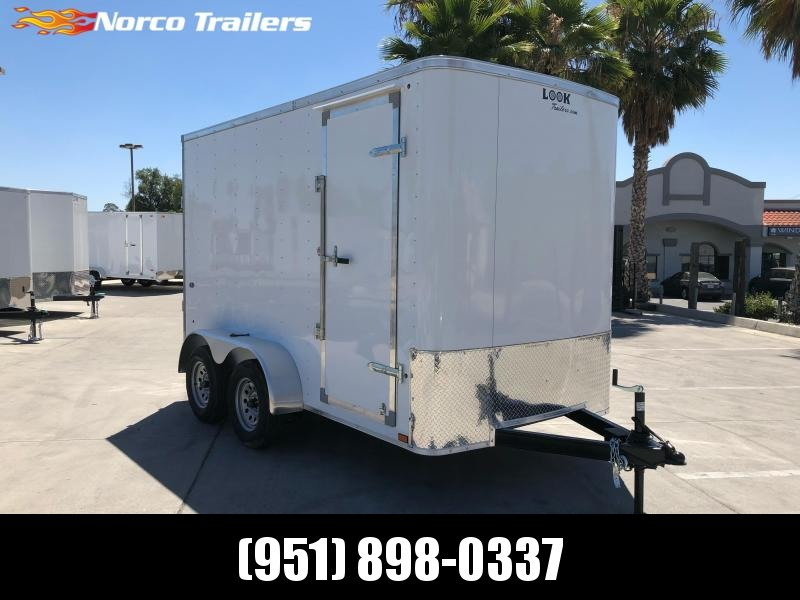 2021 Look Trailers STLC 6' x 12' Tandem Axle Enclosed Cargo Trailer