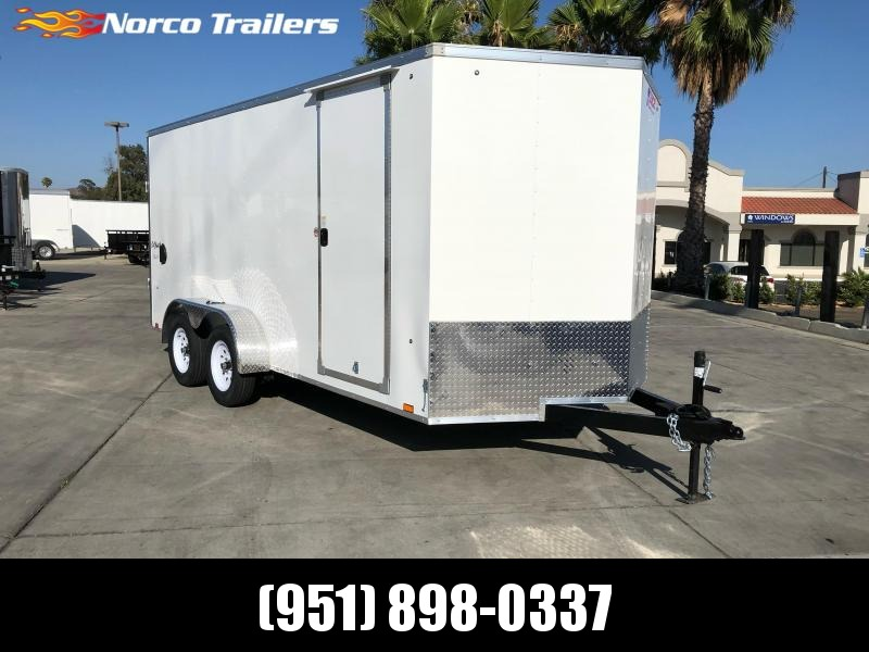 2021 Pace American 7' x 16' Tandem Axle Enclosed Cargo Trailer