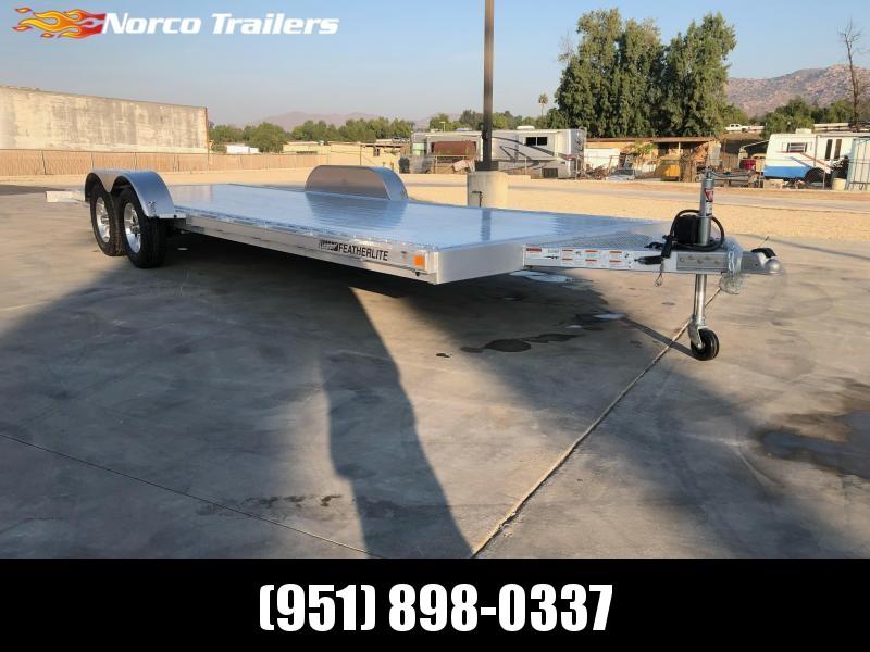 2021 Featherlite 3182 8.5' x 22' 7K Flatbed Car Trailer