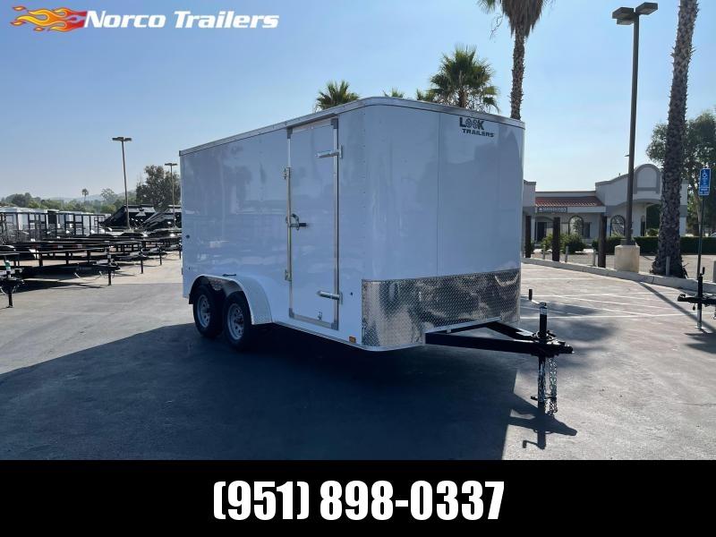 2022 Look Trailers STLC 7' x 12' Tandem Axle Enclosed Cargo Trailer