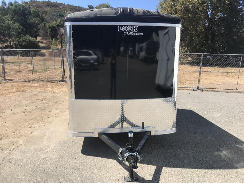 2020 Look Trailers Vision 6' x 10' Enclosed Cargo Trailer