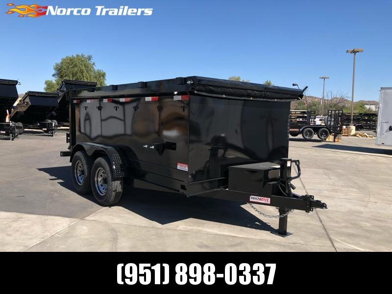 "2021 Innovative Trailer Mfg. 83"" x 12' 14K Dump Trailer"