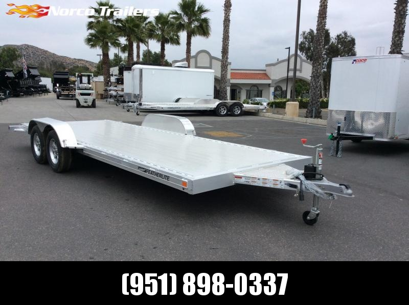 2019 Featherlite 3182 8.5' x 20' 7k Flatbed Car Trailer
