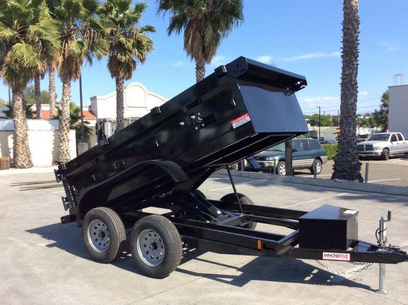 2020 Innovative Trailer Mfg. 5' x 10' Tandem Axle Dump Trailer