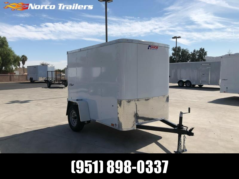 2022 Pace American Outback 5 x 8 Single Axle Enclosed Cargo Trailer