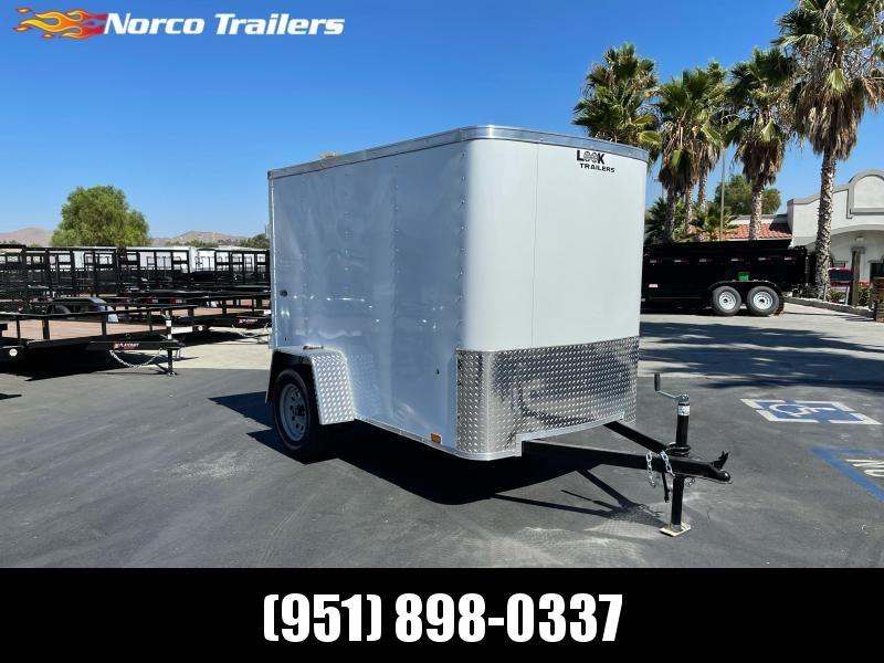 2022 Look Trailers STLC 5' x 8' Single Axle Enclosed Cargo Trailer