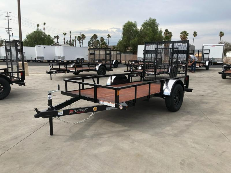 2021 Sun Country 5 x 10 Single Axle Utility Trailer