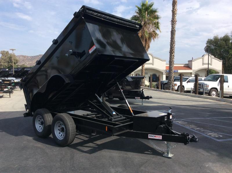 "2022 Innovative Trailer Mfg. 72"" x 10' 10K Dump Trailer"