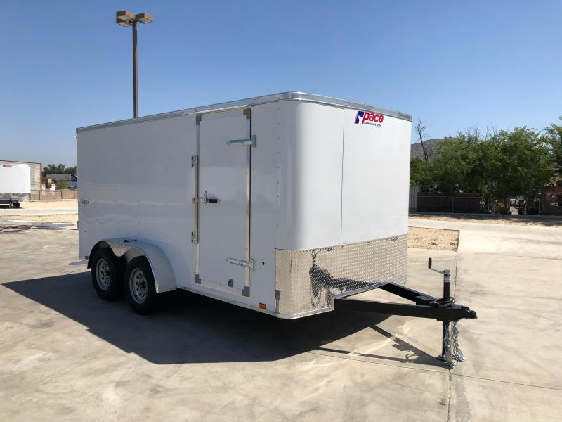 2022 Pace American Outback 7' x 14' Tandem Axle Enclosed Cargo Trailer