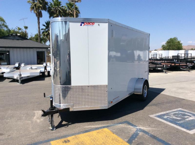 2021 Pace American Cargo Sport 6' x 12' Single Axle Enclosed Cargo Trailer