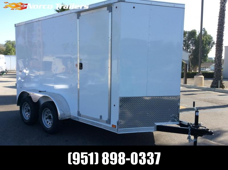 2021 Look Trailers ST DLX 6' x 12' Tandem Axle Cargo / Enclosed Trailer