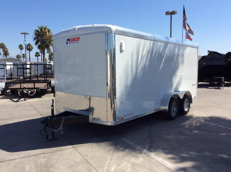 2020 Pace American Cargo Sport 7' x 16' Tandem Axle Enclosed Cargo Trailer