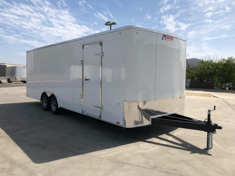 2022 Pace American Outback 8.5 x 24 Tandem Axle 10K Car / Racing Trailer