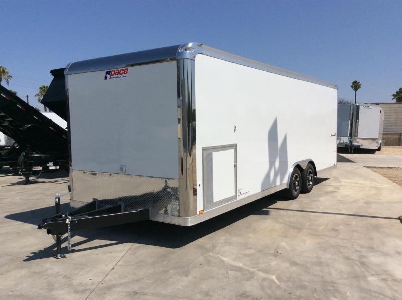 2020 Pace American Shadow GT 8.5 x 24 Car / Racing Trailer