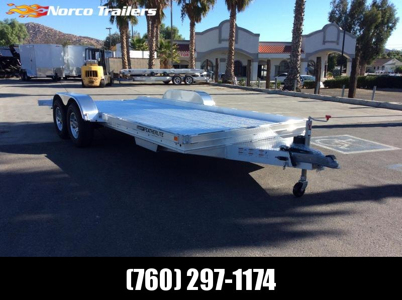 2020 Featherlite 3110 8.5' x 17.5' Tandem Axle Flatbed Trailer