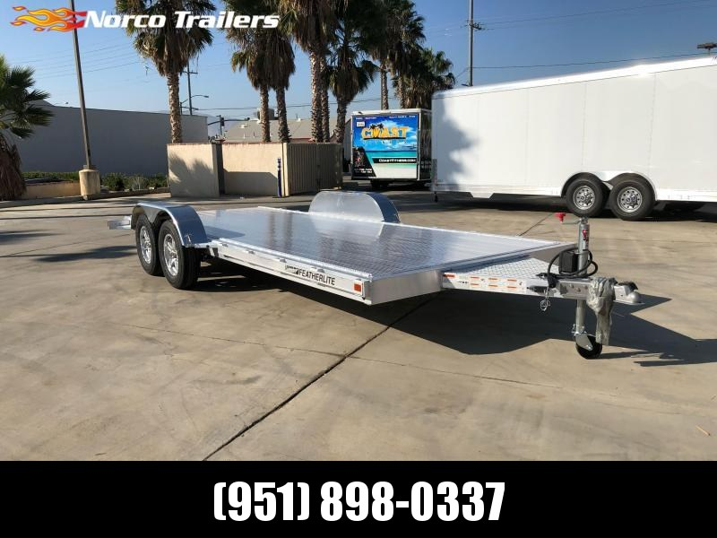 2021 Featherlite 3182 8.5' x 18' Flatbed Trailer