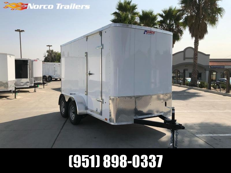 2021 Pace American Outback 6' x 12' Single Axle Enclosed Cargo Trailer