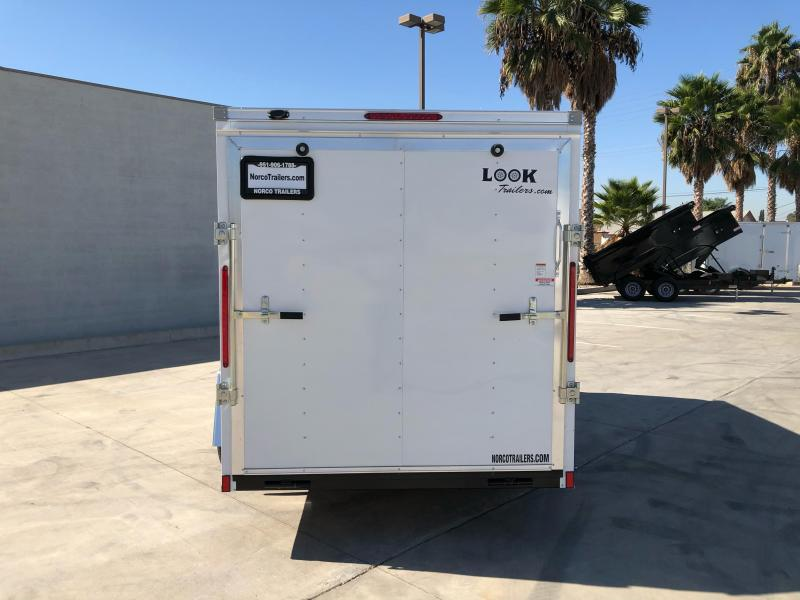 2021 Look Trailers Element 6' x 12' Cargo / Enclosed Trailer