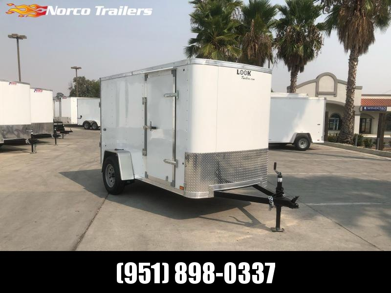 2021 Look Trailers STLC 5' x 10' Cargo / Enclosed Trailer