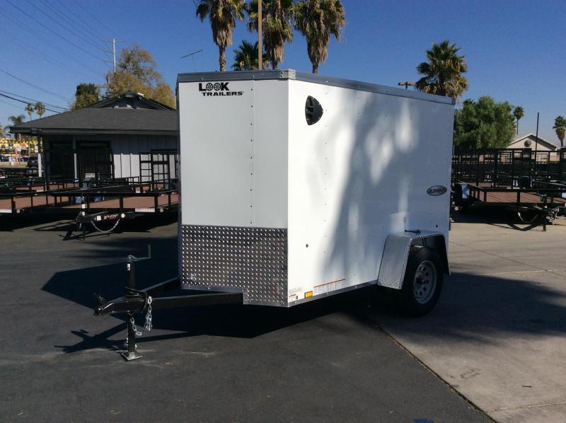 2022 Look Trailers Element 7' x 12' Single Axle Enclosed Cargo Trailer