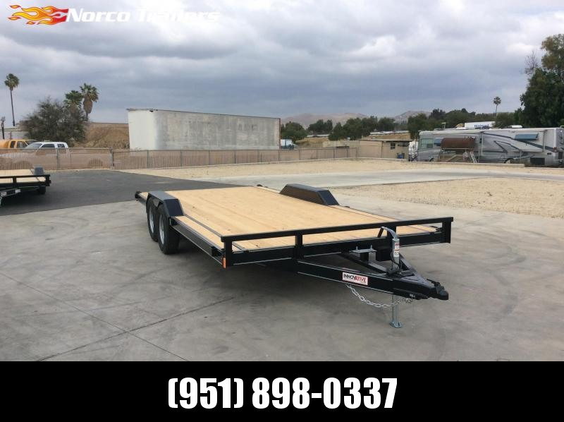 "2021 Innovative Trailer Mfg. 83"" x 18' 7k Driveover Trailer"