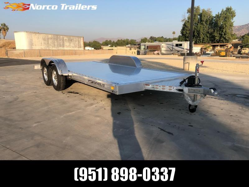 2021 Featherlite 3182 8.5' x 16' 7K Flatbed Car Trailer