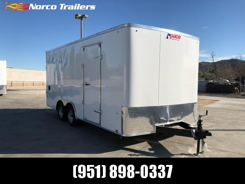 2021 Pace American Outback 8.5' x 18' 7K Car / Racing Trailer