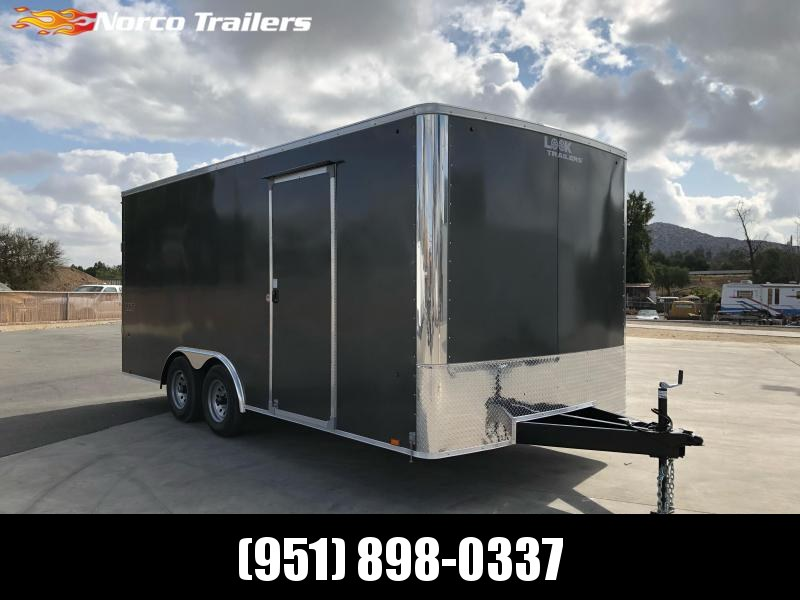 2022 Look Trailers LXT 8.5 x 18 Tandem Axle Car / Racing Trailer