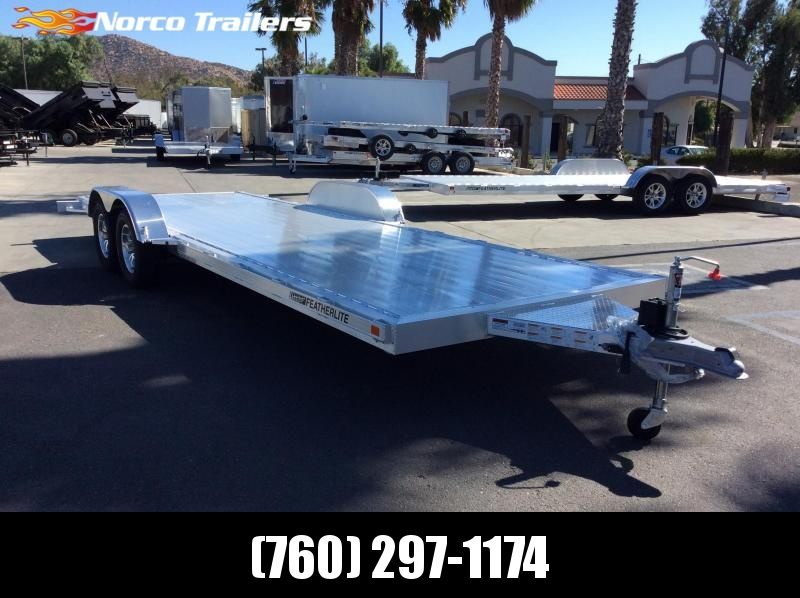 2020 Featherlite 3182 8.5' x 22' Flatbed Trailer