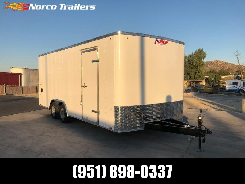 2021 Pace American Outback 8.5x20 Enclosed Cargo Trailer