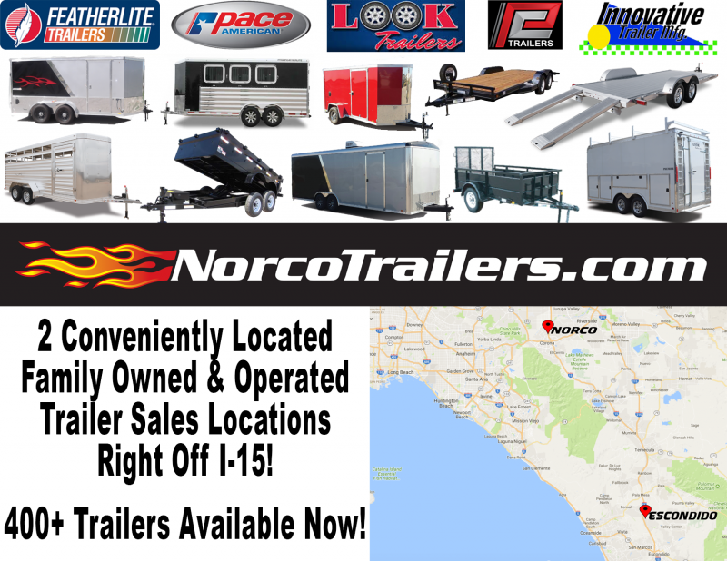 2021 Featherlite 1693 6.5' x 12' Utility Trailer