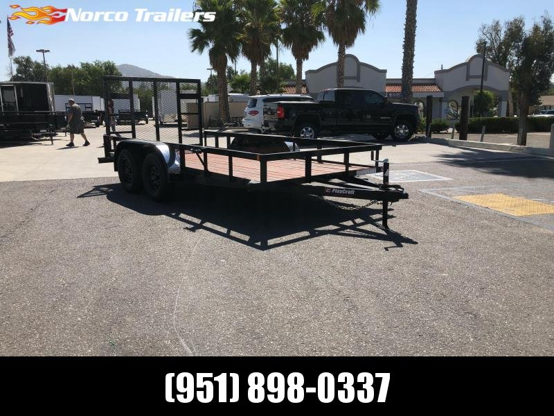 "2020 Sun Country 77"" x 14' Tandem Utility Trailer"