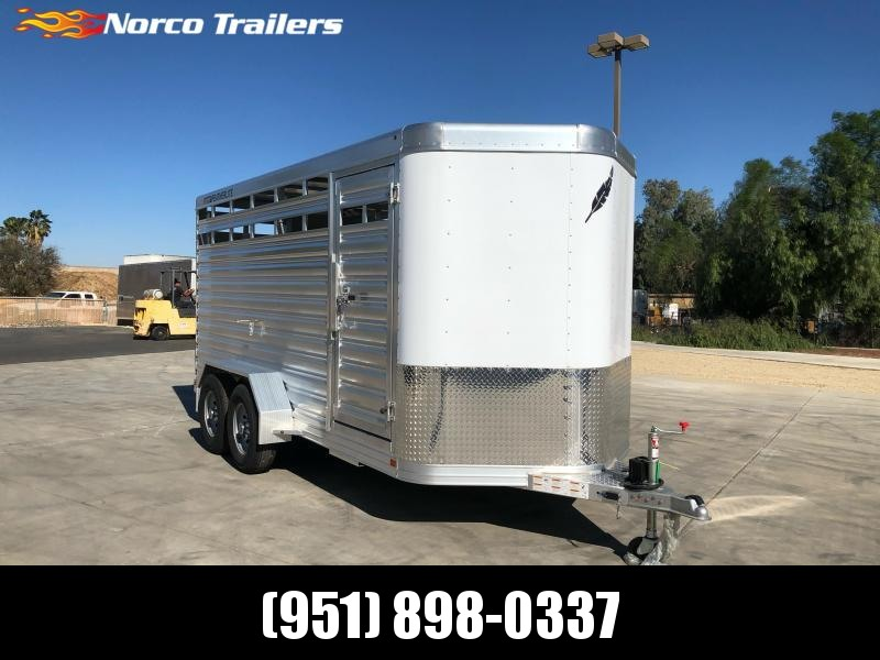 2021 Featherlite 8107 Livestock Trailer